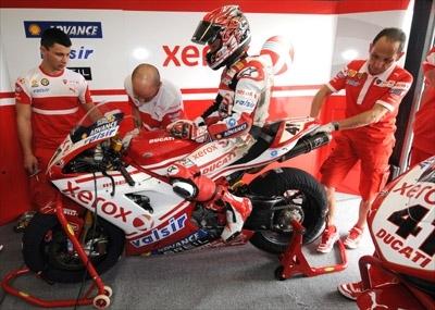 Superbike - Monza Q.1: Fabrizio confirme