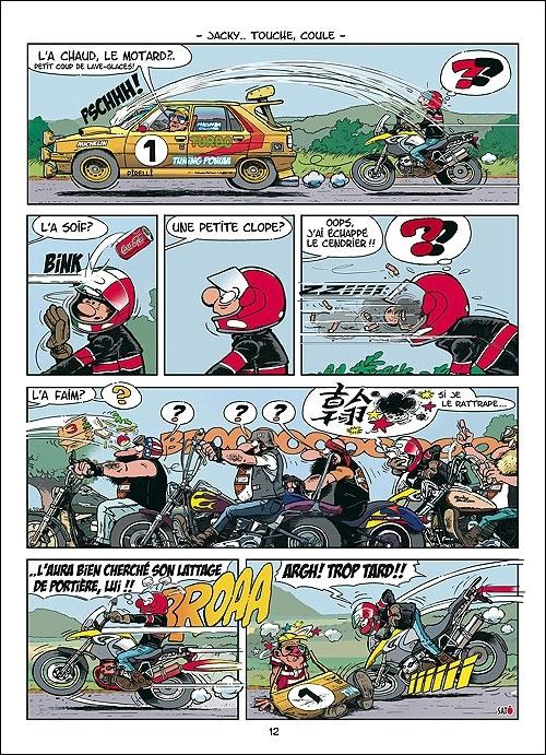 Nouvelle BD motarde pour la rentrée : by Sato