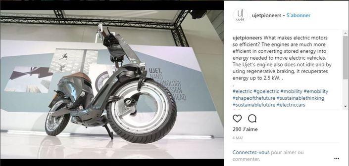 Scooter électrique: Ujet la joue mini au prix maxi