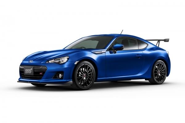 Subaru BRZ tS, demie-STI