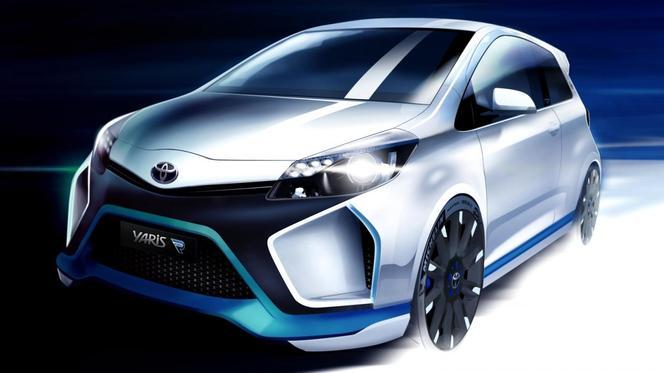 Francfort 2013 : un peu plus de la Toyota Yaris Hybrid-R Concept