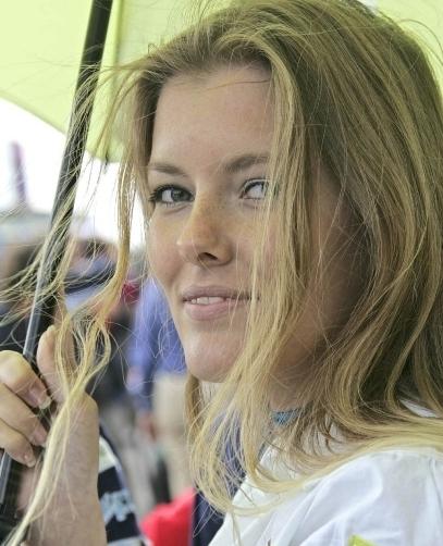Les demoiselles du paddock : Grand prix d'Assen