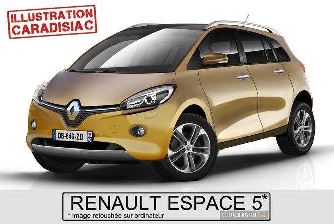 Chez Renault on prépare l'Espace 5