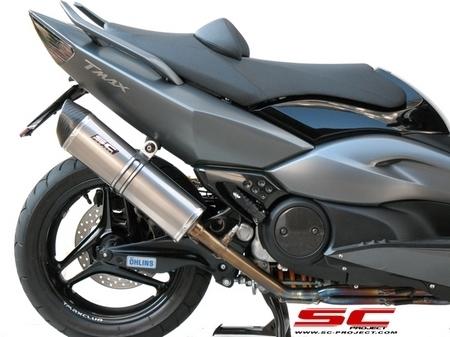 Ligne SC Project pour le Yamaha 500 T-Max [+ vidéos]