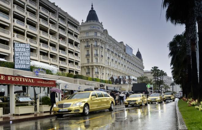 Mercedes se couvre d'or pour le Festival de Cannes