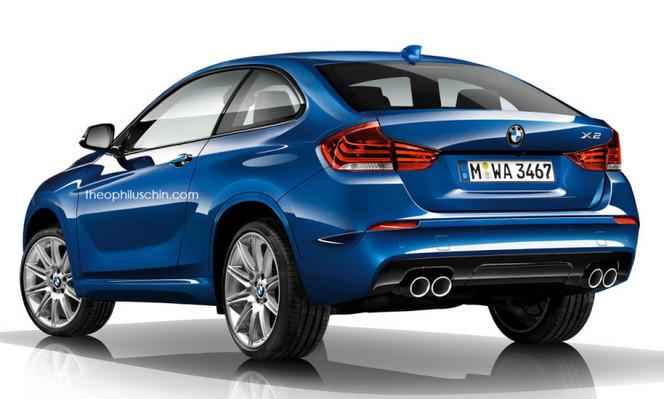 """BMW enregistre le nom """"X2 Sport"""""""