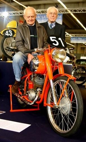 Interview Georges Lacour: 1er pilote officiel Peugeot de l'après guerre.
