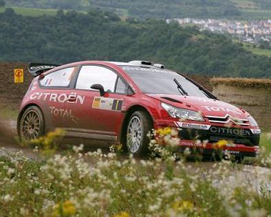 WRC: Allemagne D.1: Duval en tête !
