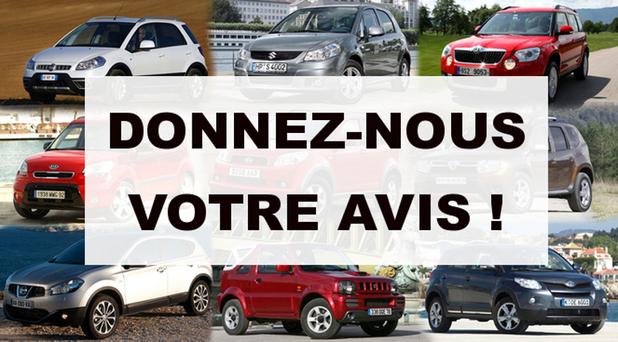 Donnez-nous votre avis sur votre véhicule d'occasion !