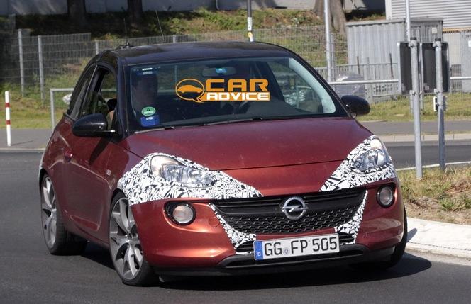 Surprise : une Opel Adam OPC en préparation ?
