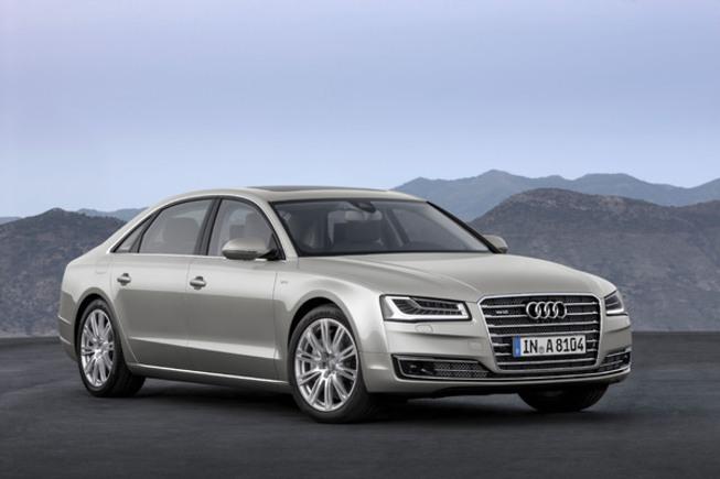 Toutes les nouveautés du salon de Francfort 2013 - Audi A8 restylée : pas de prise de risque