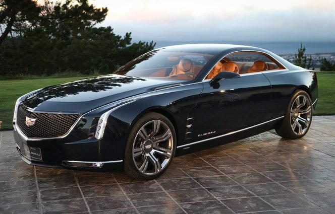 Toutes les nouveautés du salon de Francfort 2013 - Cadillac Elmiraj Concept : future LTS ?