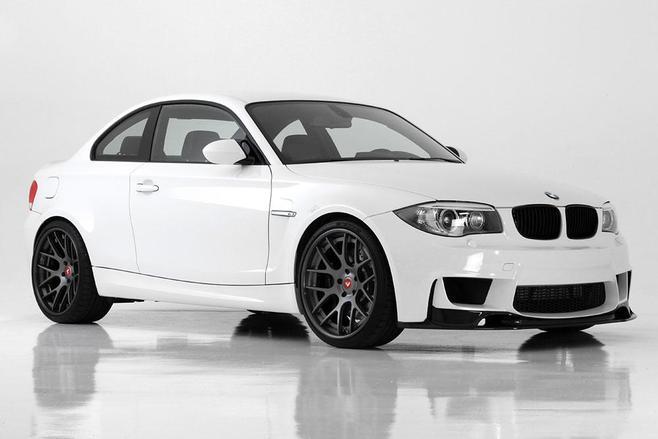 Le préparateur Vorsteiner s'occupe de la BMW 1M Coupé