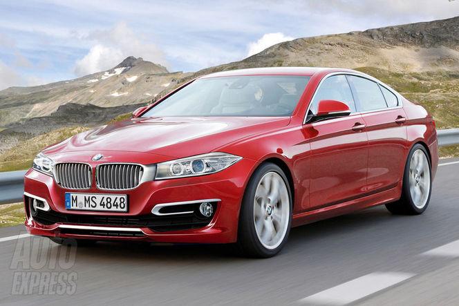 Future BMW Série 4: en Gran Coupe également