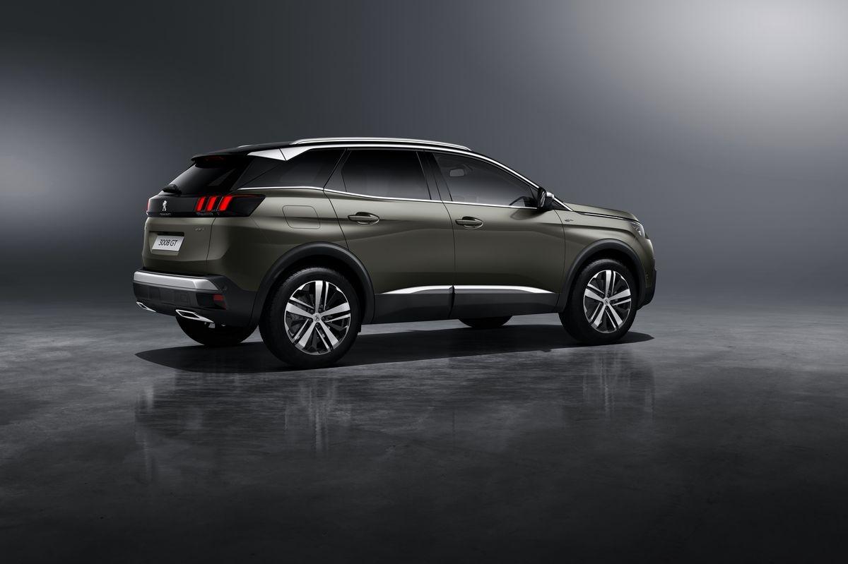Peugeot d voile la 3008 gt avec peinture coupe franche for Interieur 3008 gt line