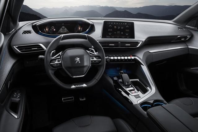 Peugeot dévoile la 3008 GT, avec peinture coupe franche!