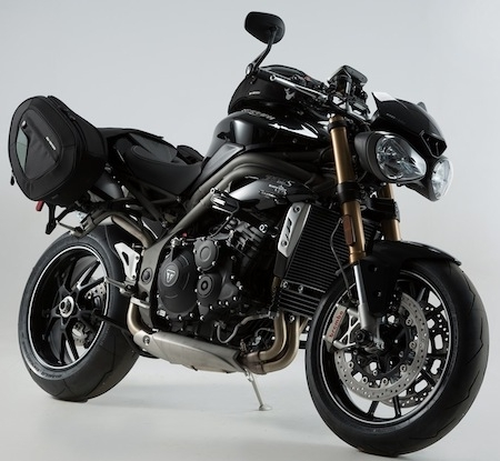 SW-Motech équipe la Triumph Speed Triple (2016)