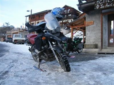 Atelier bricolage : la Moto sur neige