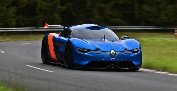 Pas encore officiel - Ceci est vraiment le concept Alpine Renault