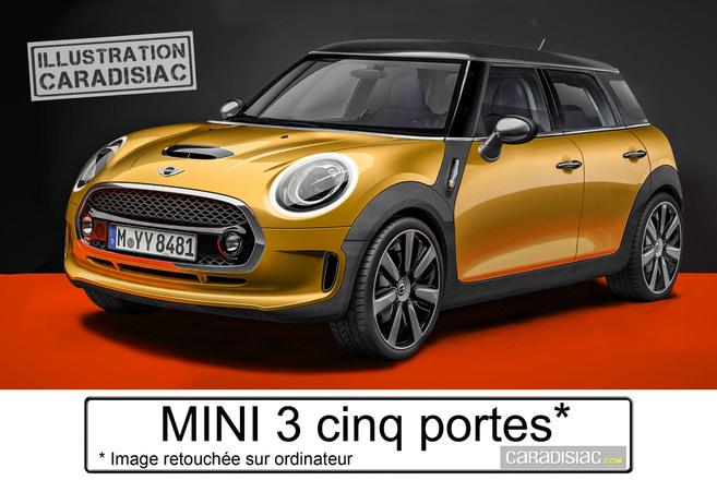 En 2014, la Mini arrive en cinq portes