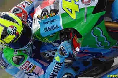 Moto GP: Partir onzième finir premier: Rossi l'a fait trois fois.