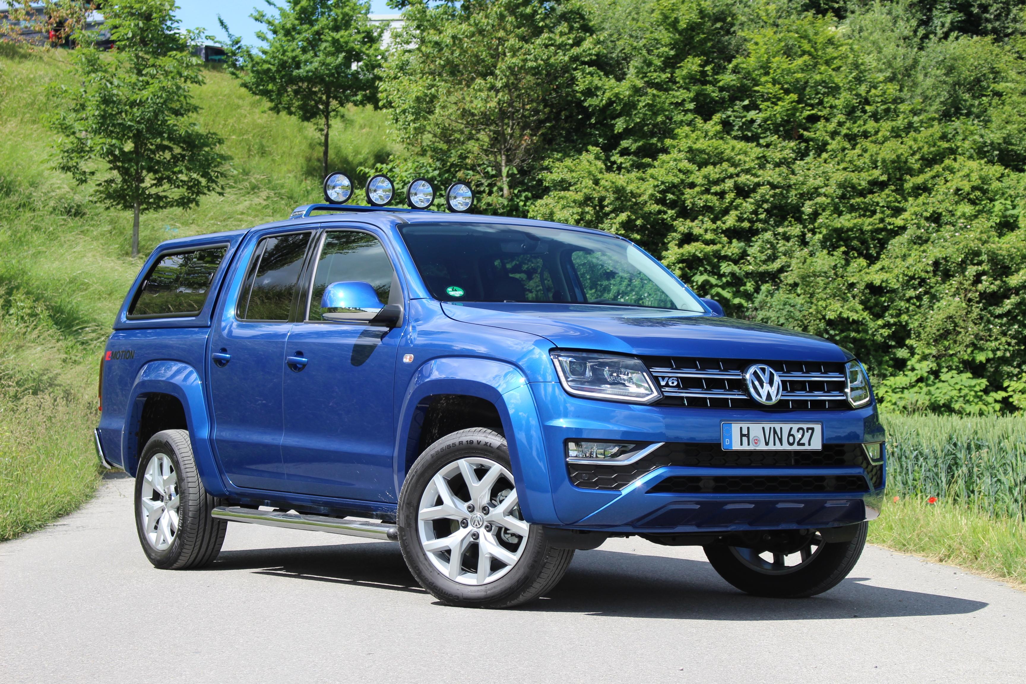 Mazda 2018 Pick Up >> Essai video - Volkswagen Amarok restylé : le pick-up premium
