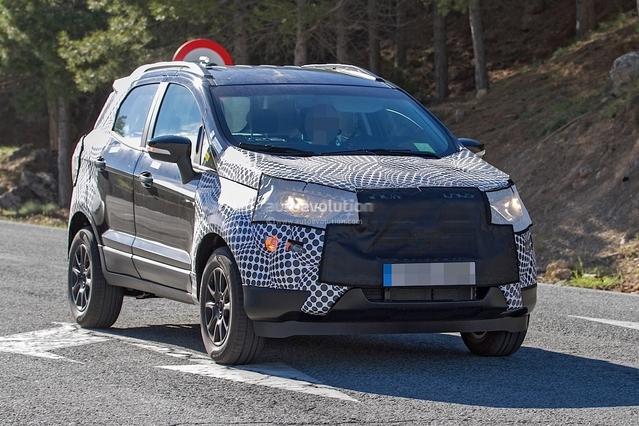 Scoop : le crossover Ford Ecosport restylé se promène