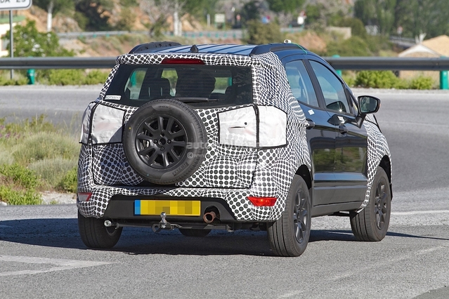 Scoop : le crossover Ford Ecosport restylé se promène