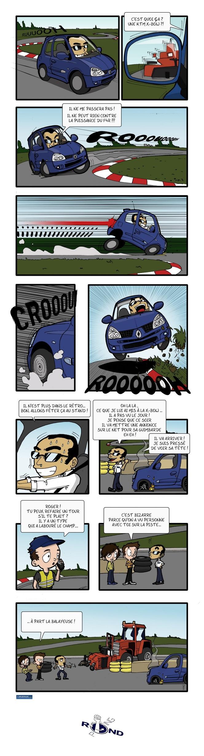 Rond-Poing, Episode 20: Y a-t-il un pilote sur la piste ?