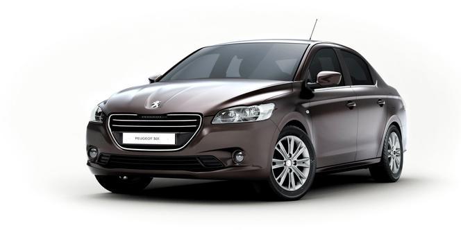 Peugeot gèle ses appellations et lance une gamme low cost inaugurée par la 301