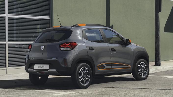 Dacia Spring (2021) - Rendez-vous demain pour les premières images en direct de l'essai - Caradisiac.com