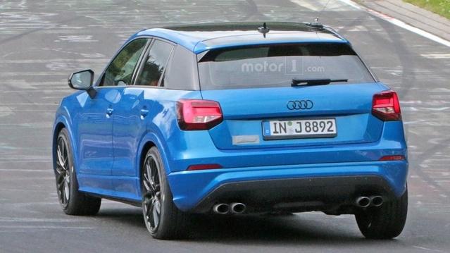 L'Audi SQ2 de sortie sur le Nürburgring