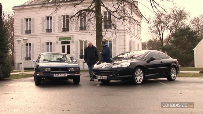 Vidéo - Peugeot 504 Coupé (1978) vs Peugeot 407 Coupé (2011) : de gentleman driver à businessman