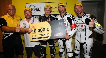 EWC Dunlop Independent Trophy: le Starteam PAM-Racing gagne les 10 000 euros
