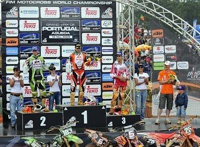 Goncalves sur sa KTM gagne son Grand-Prix national