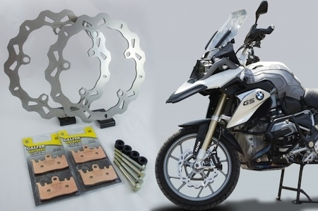 Galfer: kit de frein Oversize pour BMW R1200 GS