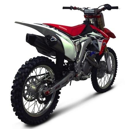 Nouvelle ligne Termignoni pour Honda CRF250R 2015