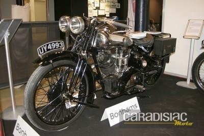 396 000 euros aux enchères pour la Brough Superior SS100  Alpine de 1929.