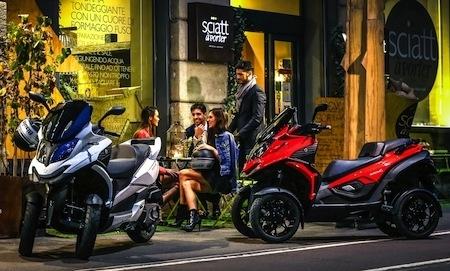 Quadro Vehicules SA: création de sa filiale française