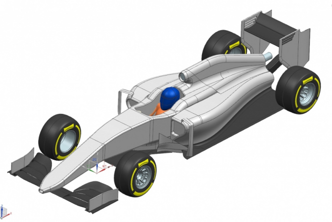 Un projet de Formule 1 en open source conçu par un Français