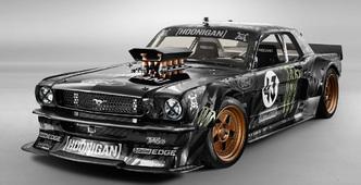 SEMA Show 2014 : voici la Mustang 65 de 845 ch du prochain Gymkhana de Ken Block