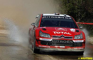 WRC: Citroën, pas tranquille