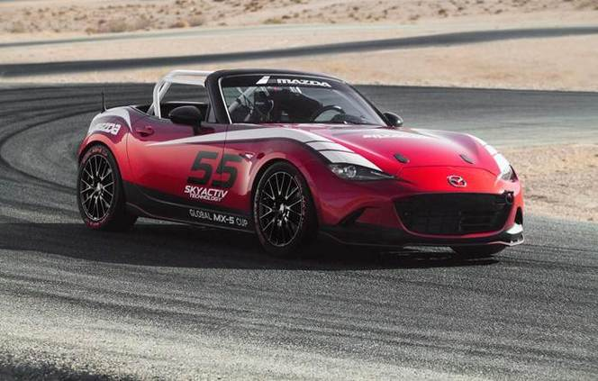 Mazda lance la Global MX-5 Cup