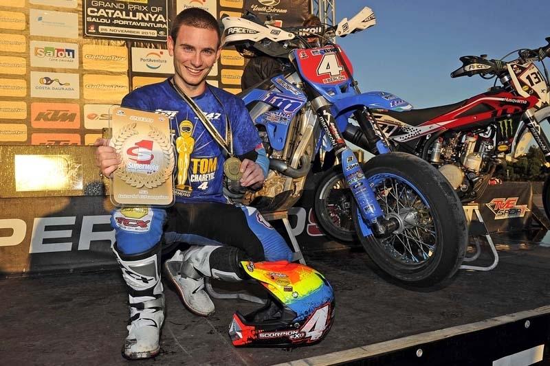 Supermoto : Thomas Chareyre champion du monde 2010 !!