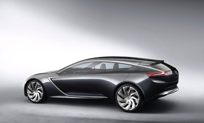 Francfort 2013 : le concept Opel Monza n'est pas un coupé