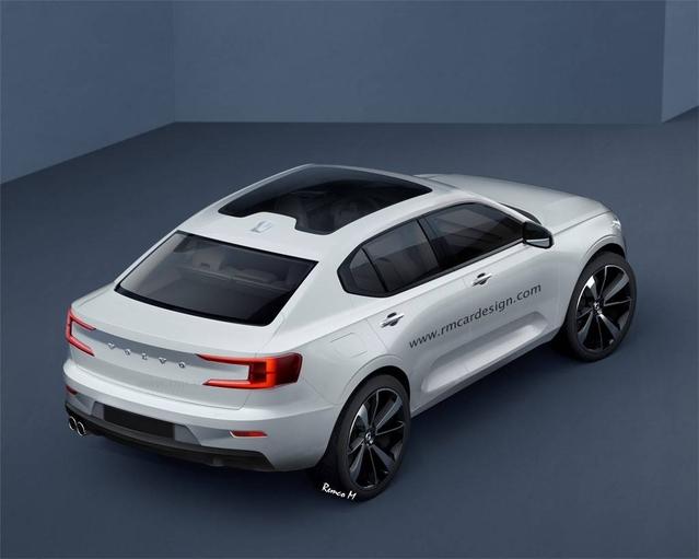 Design : un graphiste imagine un Volvo 40.1 Concept de série