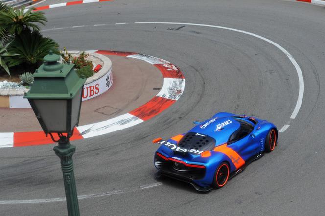 La Renault Alpine A110-50 sur le circuit de Monaco