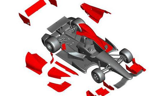 IndyLights: un nouveau châssis en 2014
