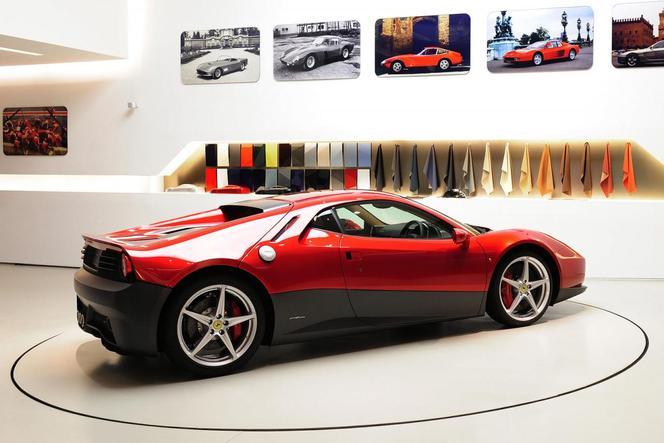 Ferrari SP12 EC, la Ferrari d'Eric Clapton