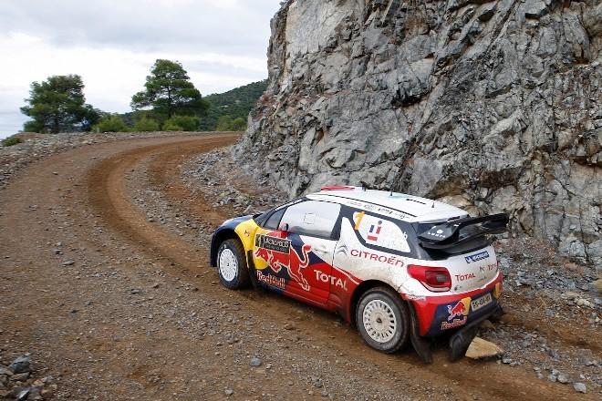WRC Grèce Jour 1 : Loeb mène d'un souffle